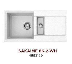 Мойка для кухни Мойка для кухни Omoikiri Sakaime 86-2-WH (4993129)