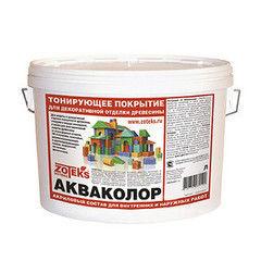 Защитный состав Антисептик для древесины Зотекс Акваколор (10 кг)