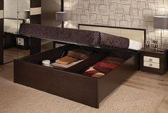 Кровать Кровать Глазовская мебельная фабрика Амели с подъемным механизмом (1800) венге