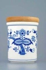 Cesky Porcelan Банка с деревянной крышкой B средняя 10475/00001