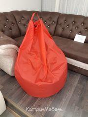 Бескаркасное кресло Бескаркасное кресло ООО «Мы Делаем Мебель» Красное