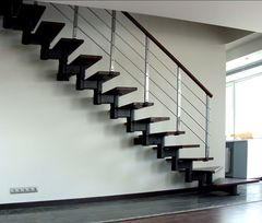 Модульная лестница Арми-Тех Межэтажная модульная