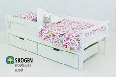 Детская кровать Детская кровать Бельмарко Skogen белый