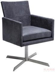 Офисное кресло Офисное кресло Kare Swivel Arm Chair Dialog Anthracite 76439