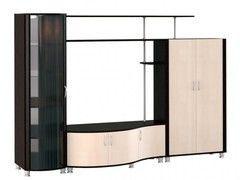 Глазовская мебельная фабрика Элегия 22 МЦН (венге+дуб отбеленный)