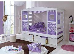 Детская кровать Детская кровать Грандвуд Хаус (без текстиля)