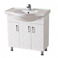 Мебель для ванной комнаты Аква Родос Тумба с умывальником Ассоль 80