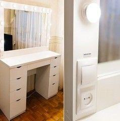 Туалетный столик Roofix 2SH+ (9 ламп)