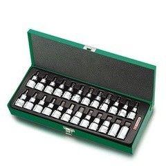Столярный и слесарный инструмент Toptul Набор бит GAAD2402
