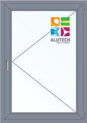 Алюминиевое окно Alutech 1000*1400 П