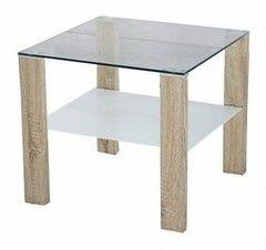 Журнальный столик Halmar Simple H kwadrat (дуб сонома)
