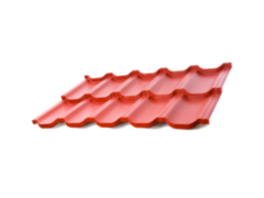 Металлочерепица Металлочерепица АрсеналМеталл Этерна 0.5 мм RAL6020 глянцевый