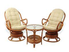 Комплект мебели из ротанга Мир ротанга 05/01-02/15A-rd