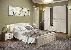 Спальня Настоящая мебель Ницца №1 ясень