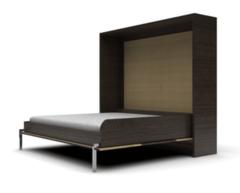 Мебель-трансформер Кровать-шкаф Mebelin горизонтальная венге