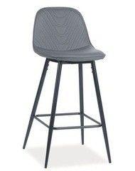 Барный стул Барный стул Signal Teo H-1 (серый/черный)