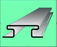 Сайдинг Сайдинг Vox S-18 Планка соединительная (серая)