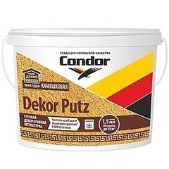 Штукатурка Штукатурка Condor Dekor Putz Камешковая (25 кг)