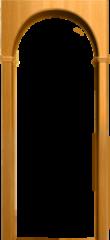 Межкомнатная арка Юркас Милано Миланский орех
