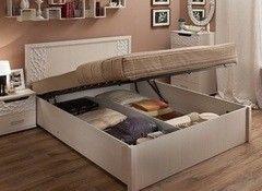 Кровать Кровать Глазовская мебельная фабрика Wyspaa 21.2 с подъемным механизмом (1800) бодега светлый
