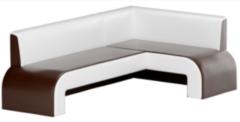 Кухонный уголок, диван Mebelico Кармен (экокожа коричневый)