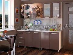 Кухня Кухня BTS Шоколад 2.0м Люкс
