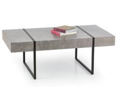 Журнальный столик Halmar Tiffany (серый/ черный)