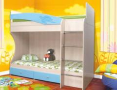 Двухъярусная кровать Олмеко Адель-1