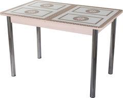 Обеденный стол Обеденный стол Домотека Танго ПР (СТ-71/молочный дуб/02) 70x110(147)x75
