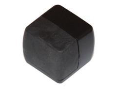 System Furniture Ограничитель DS1015 AL6 черный матовый