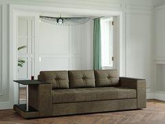 Диван Диван Настоящая мебель Ванкувер Лайт со столом (модель 00-00003457) коричневый