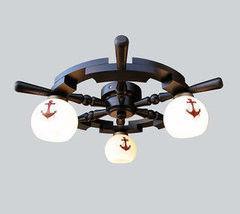 Светильник Светильник Stdlight Штурвал на 3 лампы арт. 328П