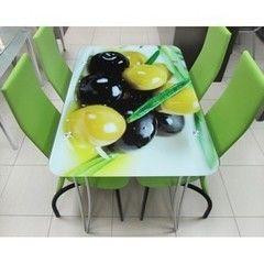 Обеденный стол Обеденный стол Центр стекла Z-6 1050х700