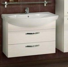 Мебель для ванной комнаты Акватон Тумба Ария 80 М (1A140801AA010) белая