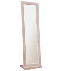 Зеркало Стэнлес Валенсия (56x42.5x195) отбеленный дуб, масло Natur, бейц-масло+воск