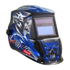 Mitech Маска сварочная Blue Skull