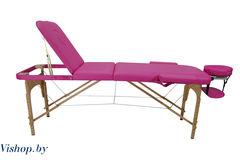 Мебель для салонов красоты  Массажный стол Atlas Sport складной 3-с деревянный + сумка в подарок