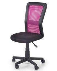 Детский стул Детский стул Halmar Cosmo (черно-розовый)