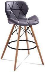 Барный стул Барный стул Atreve Eliot (темно-сер./бук)