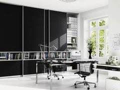 Шкаф офисный Raumplus Черный в кабинет