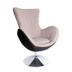 Кресло Halmar BUTTERFLY (серое)