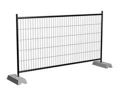Забор Забор БелБиоХаус Временные металлические строительные ограждения на бетонных ножках