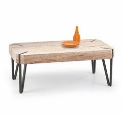 Журнальный столик Halmar Emily (дуб Сан-Ремо/черный)