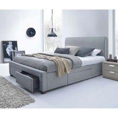 Кровать Кровать Halmar Modena 160 (серый)