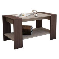 Журнальный столик Горизонт Квадро (Шимо тёмный/светлый)