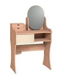 Туалетный столик Глазовская мебельная фабрика Амели 14 (дуб отбеленный)