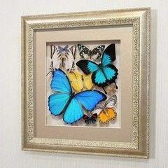 noname Сборка с синими доминирующими бабочками (92с-01)