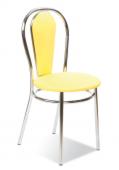 Кухонный стул САВ-Лайн Тулипан плюс хром (жёлтый)