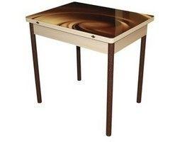 Обеденный стол Обеденный стол Древпром Солтеро М29 (стекло с рисунком)
