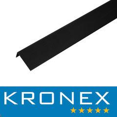 Декинг Декинг Kronex Угол завершающий алюминиевый 51.5x30x3000 мм браш черный